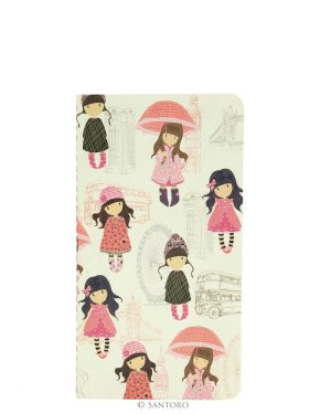 Gorjuss Traveller Set of 2 Notebooks Pink- London