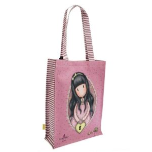 Gorjuss Coated Tote Shopper Bag - The Secret