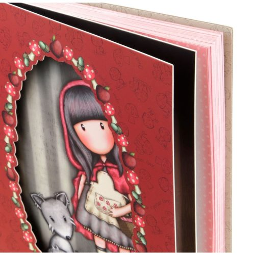 Gorjuss Little Red Riding Hood Double Cover Wirobound Journal
