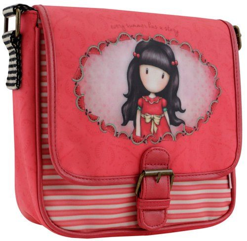 Gorjuss Every Summer Has A Story Coated Saddle Bag