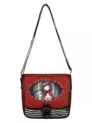 Gorjuss Little Red Riding Hood Coated Saddle Bag