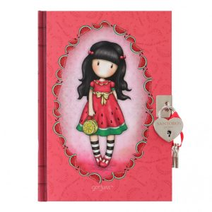 Gorjuss Lockable Journal - Every Summer Has A Story