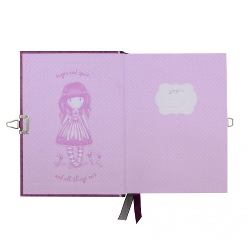 Gorjuss Lockable Notebook Set - Sugar And Spice