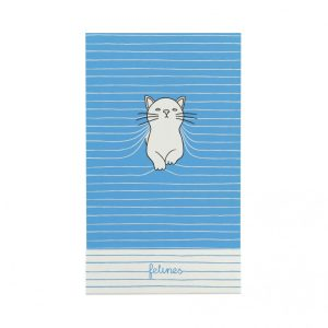 Santoro Felines Cat Matchbook Notebook - Purrrfect Place