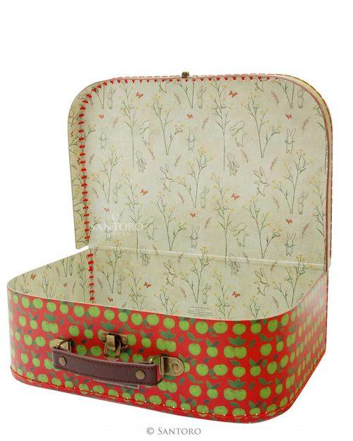 Poppi Loves Large Suitcase Box - Apple Tree House