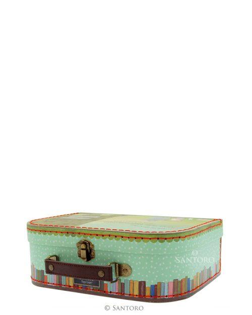 Poppi Loves Medium Suitcase Box - The Library