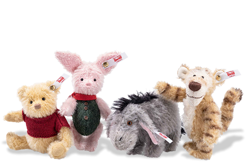 Steiff Disney Christopher Robin Gift Set - Limited Edition EAN 355417 (Winnie The Pooh)