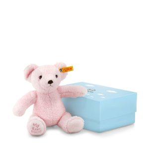 My First Steiff Teddy Bear In Box, Pink – EAN 241352