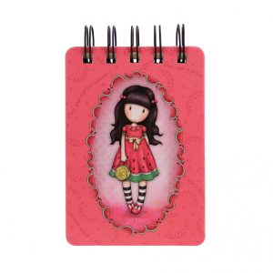 Gorjuss Mini Wirobound Notebook - Every Summer Has A Story