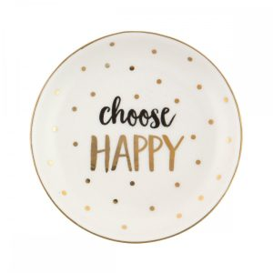Choose Happy Trinket Dish – Sass and Belle