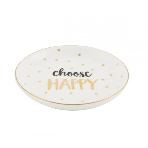 Choose Happy Trinket Dish - Sass and Belle
