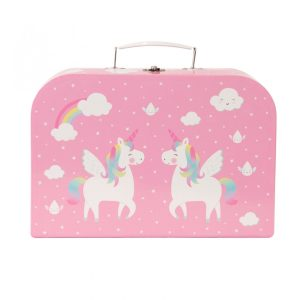 Unicorn Picnic Box Tea Set - Sass and Belle