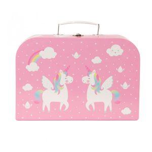 Unicorn Picnic Box Tea Set - Sass and Belle