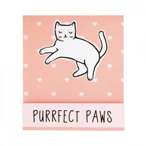 Set of 6 Mini Cutie Cat Purrfect Paws Nail Files - Sass and Belle