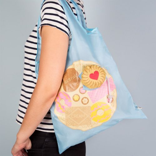 Jammy Dodger Biscuit Foldable Shopping Bag - Sass and Belle