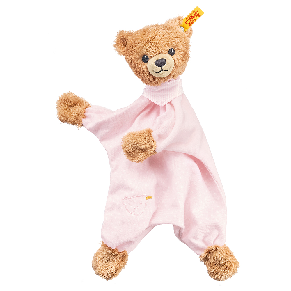 Steiff Sleep Well Bear Comforter, Pink - EAN 239533