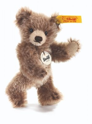 Steiff Classic Mini Jointed Teddy Bear Tipped, Brown - EAN 009167