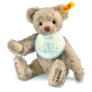 Steiff Personalised Birth Classic Teddy Bear EAN 001765