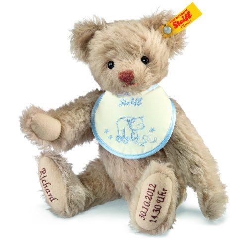 Steiff Personalised Birth Classic Teddy Bear EAN 001765