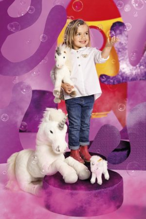 Starly Dangling Unicorn Large 70cm - Steiff EAN 015090