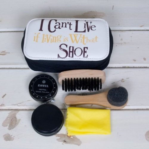 I Can't Live If Living Is Without Shoe Shoe Cleaning Kit - The Bright Side