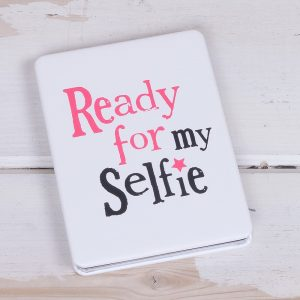 Ready For My Selfie Compact Mirror - The Bright Side