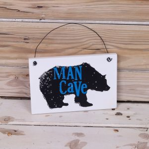 Man Cave Sign - The Bright Side