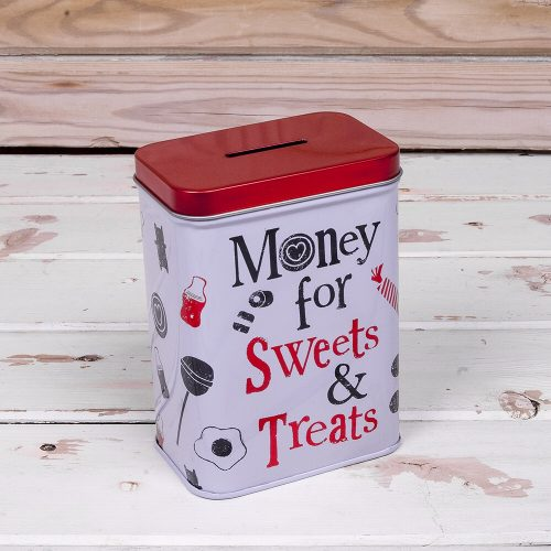 Money For Sweets And Treats Tin - The Bright Side