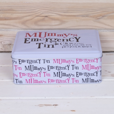 Mummy's Emergency Tin - The Bright Side