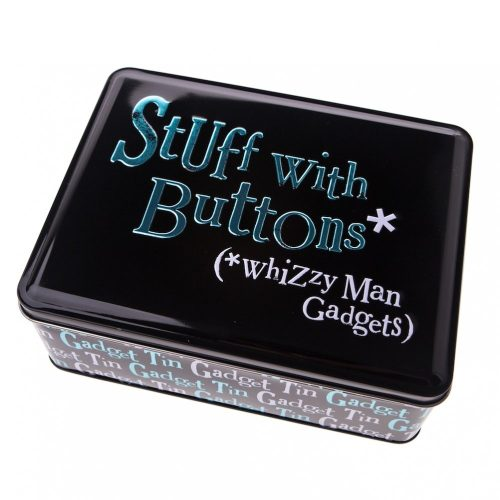 Stuff With Buttons: Whizzy Man Gadgets Tin - The Bright Side
