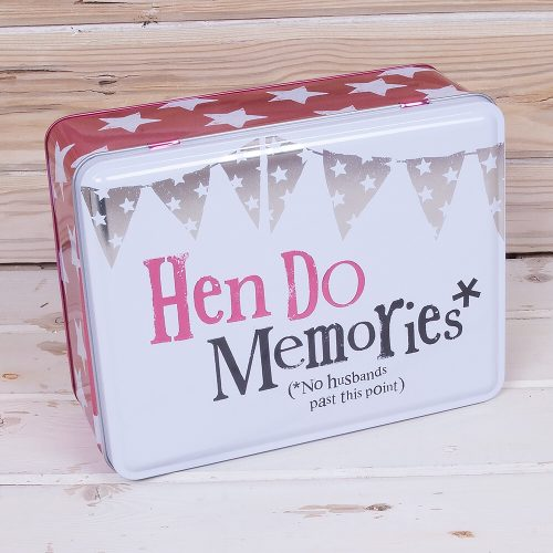 Hen Do Memories Tin - The Bright Side