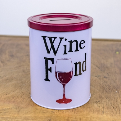 Wine Fund Tin - The Bright Side