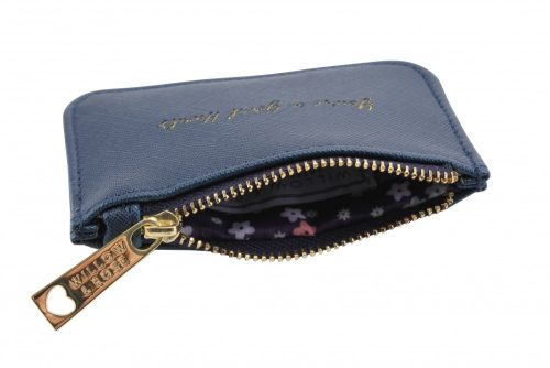 Youre In Good Hands Navy Rectangular Purse - Willow & Rose