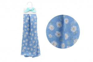 Blue Daisy Scarf - Willow & Rose