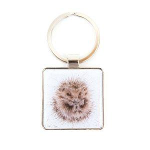 Awakening Hedgehog Keyring - Wrendale Designs
