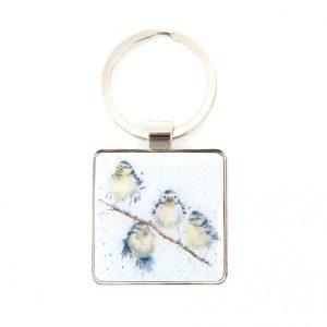 Hanging Out Bird Keyring - Wrendale Designs