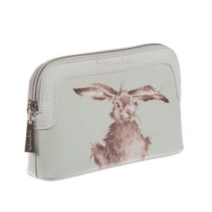 Small Hare-Brained Cosmetic Bag - Wrendale Designs