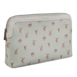 Large Hare-Brained Cosmetic Bag - Wrendale Designs