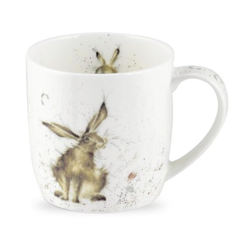Good Hare Day China Mug - Wrendale Designs