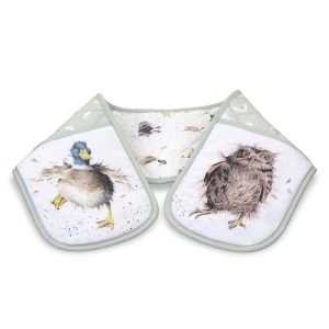 Country Double Oven Gloves - Wrendale Designs