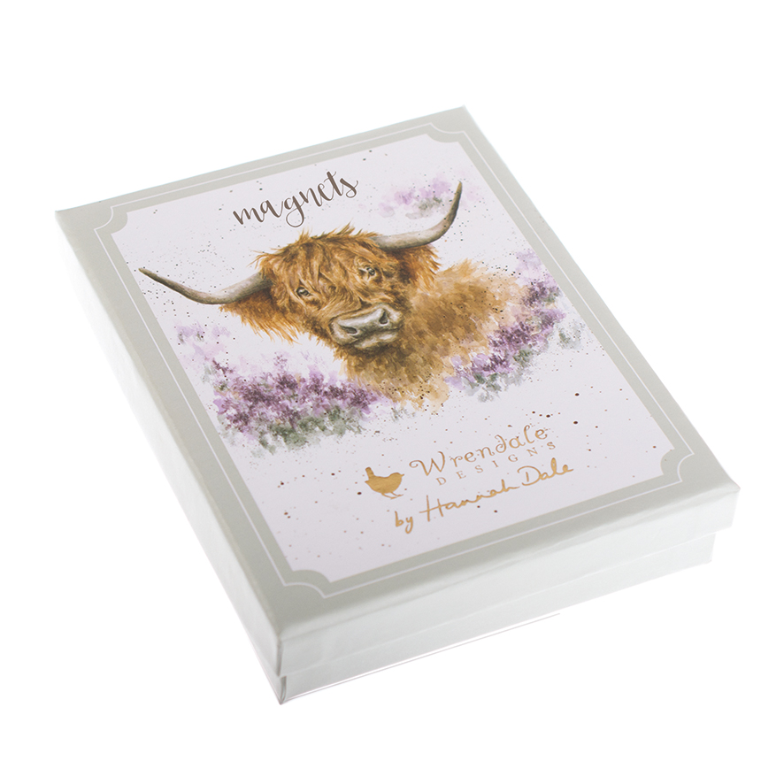 2f005ba98277 Magnet Gift Set - Wrendale Designs - Fox and Lantern