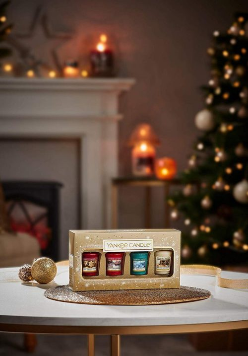 Yankee Candle 4 Votive Gift Set - Holiday Sparkle