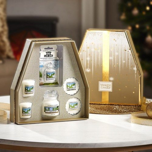 Yankee Candle Clean Cotton Gift Set