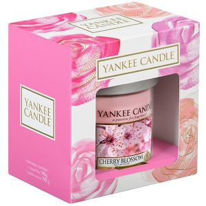 Yankee Candle Cherry Blossom Small Pillar Candle Gift Set