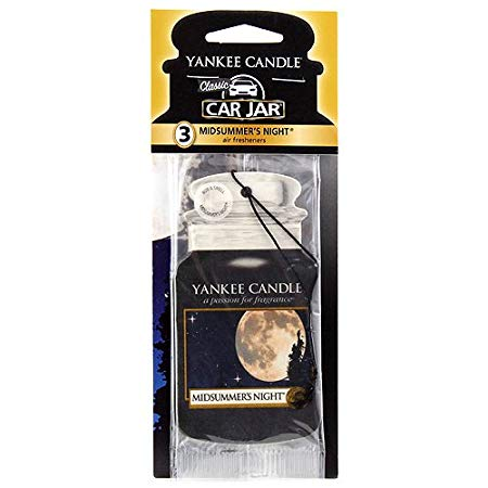 Yankee Candle Midsummers Night Car Jar Air Freshener