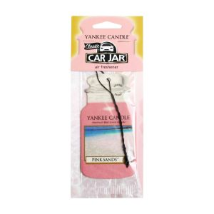 Yankee Candle Pink Sands Car Jar Air Freshener