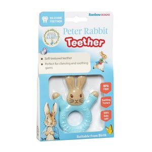Peter Rabbit Teether - Rainbow Designs