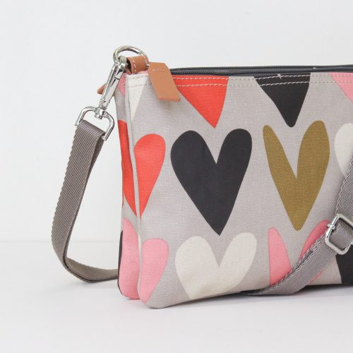 Hearts Rowan Cross Body Bag - Caroline Gardner