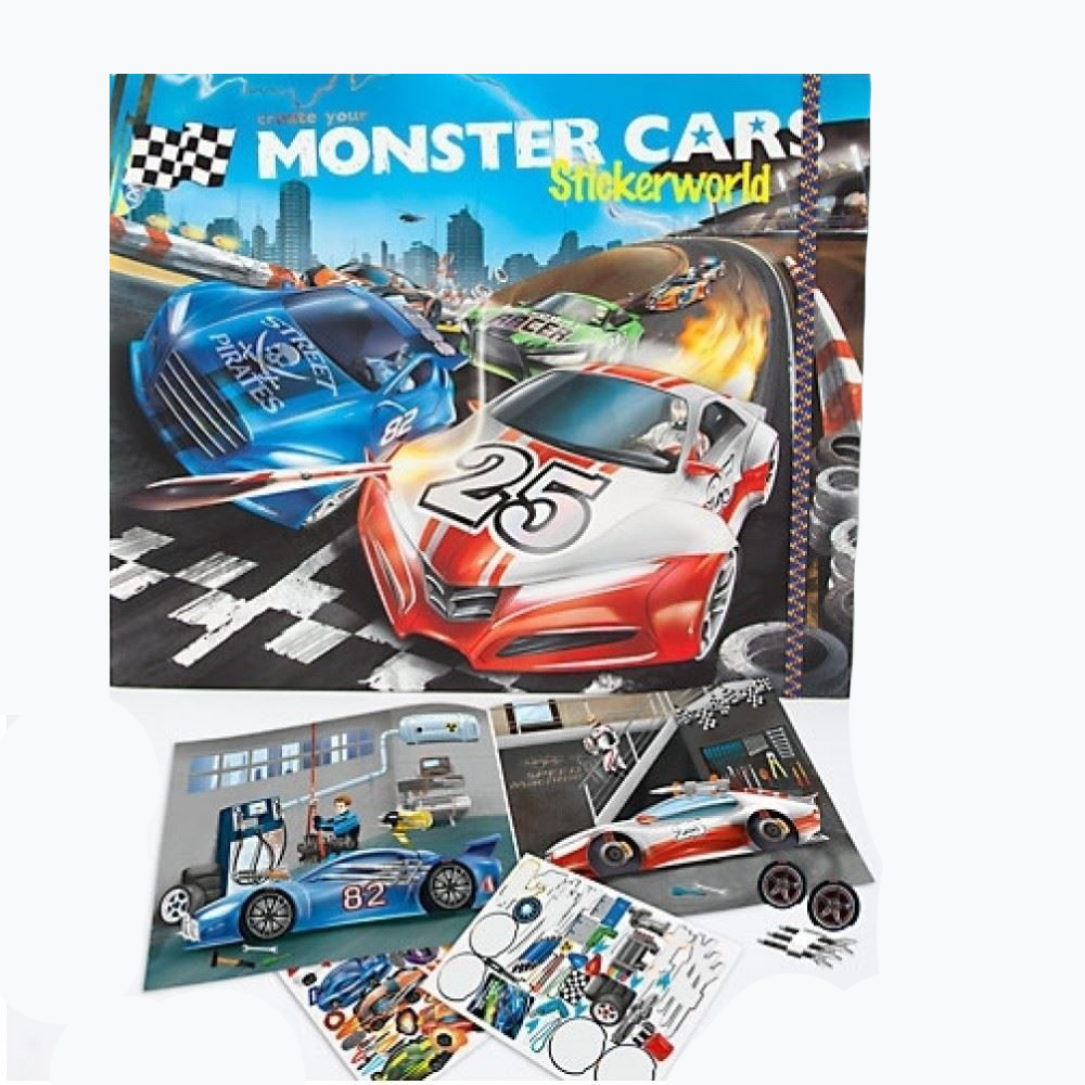 Monster Cars Create Your Own - Depesche