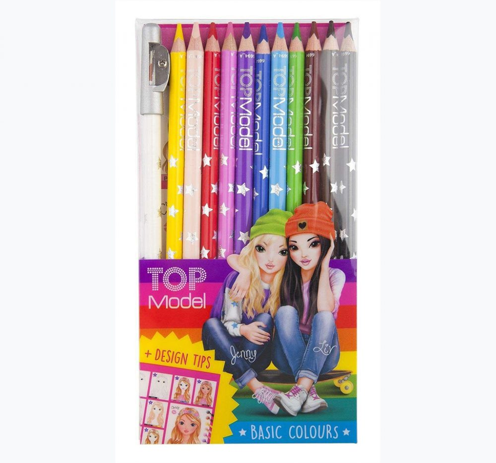 Top Model Basic Colour Colouring Pencils - Depesche